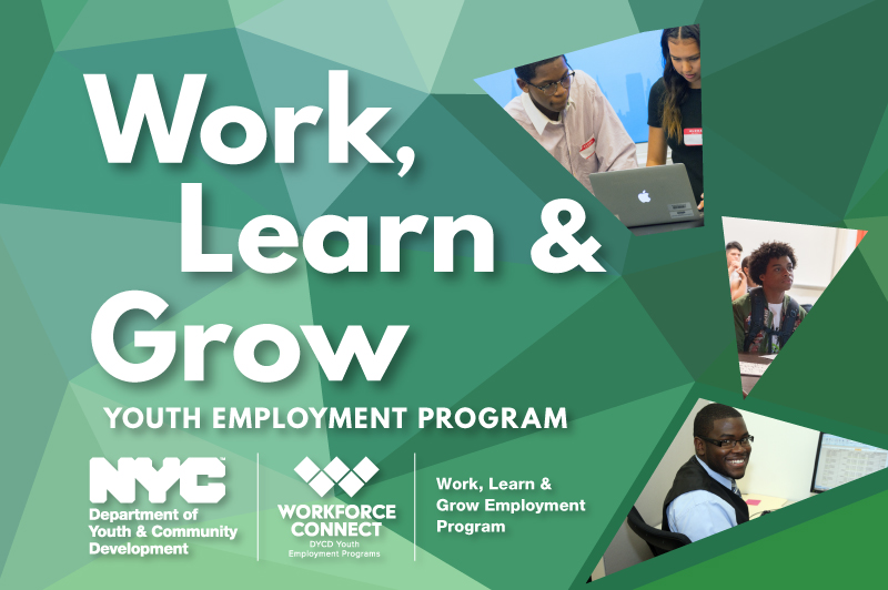 NYC Work, Learn and Grow logo